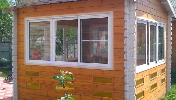 Окна для беседок и бань со скидкой