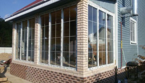 Окна для террас и веранд со скидкой