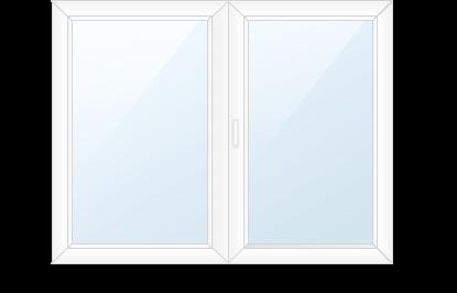 Двухсекционное окно